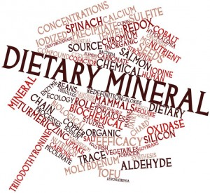 Dietary minerals and supplements