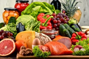 Healthy Fruits Vegetables Protein