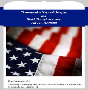 Newsletter TDI and Health Through Awareness - July 2017 Newsletter