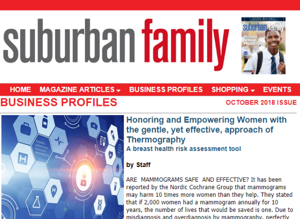 TDINJ is Featured in Suburban Family Magazine