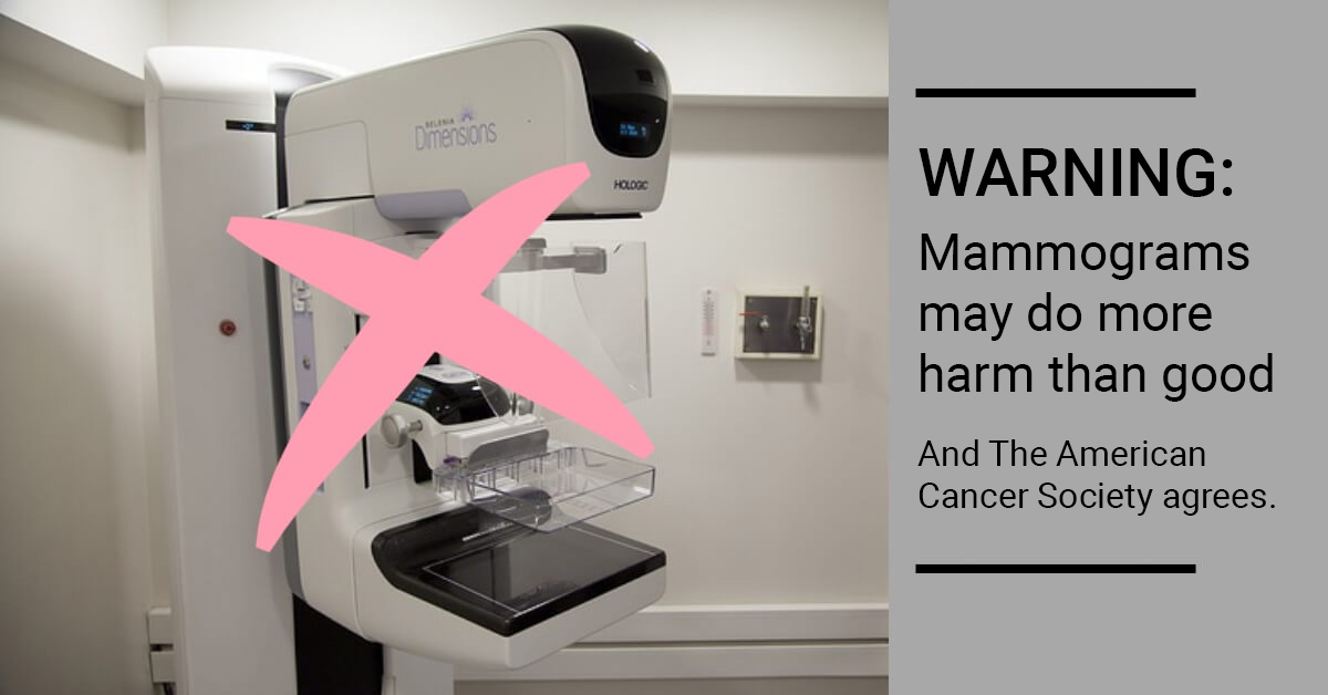 Warning: Mammograms may do more harm than good