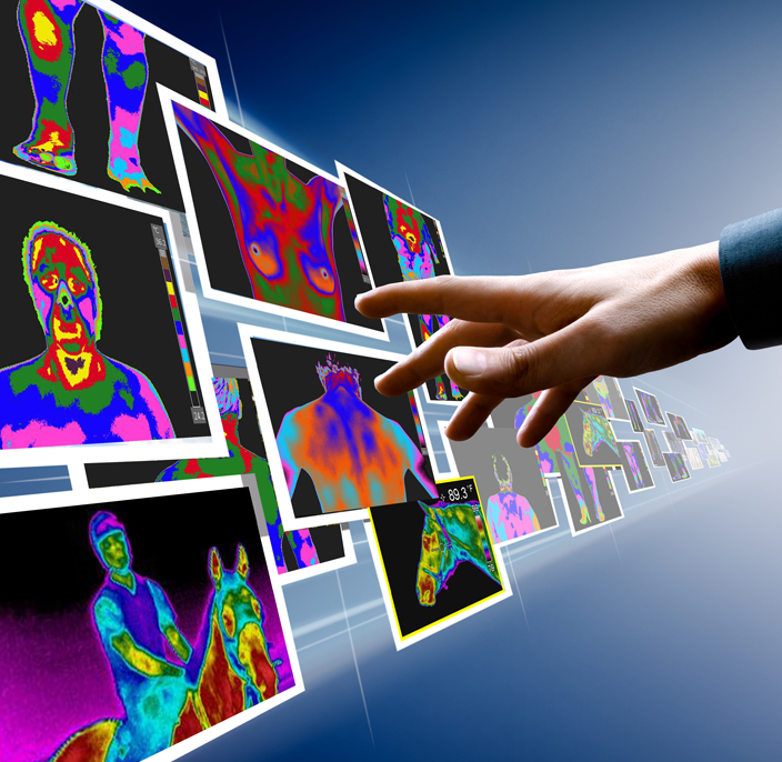 Thermography images